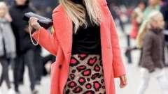 60 Модниць в яскравих пальто - найстильніші кольору
