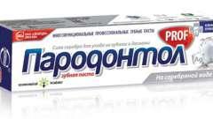 Асортимент зубних паст «пародонтол»