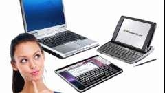 Що вибрати - ноутбук або планшет?