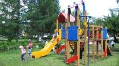 Дитячий ігровий майданчик вашого двору