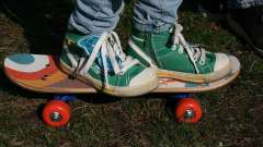 Дитяче взуття для скейтбордистів