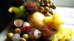 Екзотичні фрукти та їх корисність.