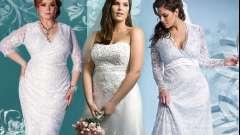Як вибрати весільну сукню для повної нареченої?
