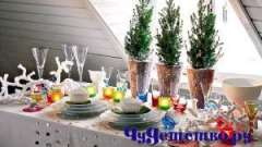 Який повинен бути новорічний стіл 2012