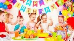 Кулінарні табу на дитячому святковому столі