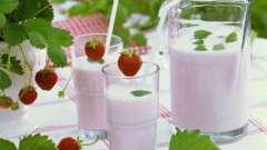 Молочний коктейль для наших діток