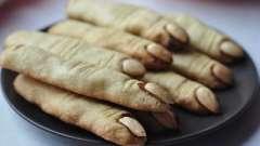 Печиво відьмині пальчики))) для хеллоуїна і не тільки!