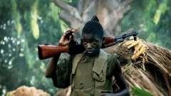 За даними юнісеф, в війнах бере участь понад 300 тисяч дітей в світі