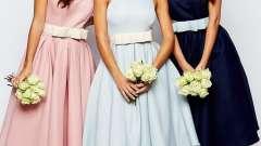 Приталені плаття - самі жіночні образи