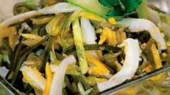 Салат з морської капусти з користю для здоров`я