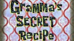 Спанч боб квадратні штани секретний рецепт і бабуля 07-13-01