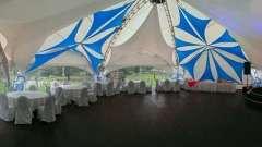 Весілля на природі: особливості вибору весільного шатра