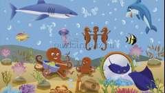 Тема уроку: «мешканці морських глибин». Риби англійською мовою з вимовою