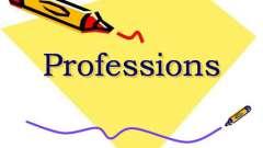 Тема уроку: «професії». Англійською мовою з вимовою