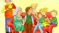 Тема уроку: «сім`я». Англійською мовою з вимовою